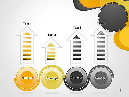 Cogwheel Concept PowerPoint Template Slide 7
