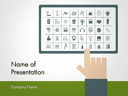 Smart Home Automation PowerPoint Template