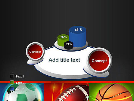 Soccer Rugby and Basketball Balls PowerPoint Template Slide 16