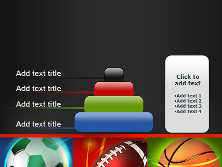 Soccer Rugby and Basketball Balls PowerPoint Template Slide 8