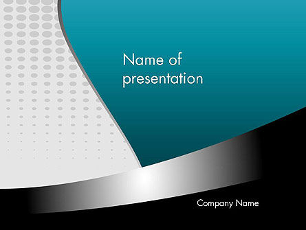 Interweaving Layers Abstract PowerPoint Template
