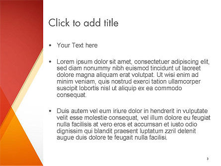 Color Mixing Abstract PowerPoint Template, Slide 3, 14268, Abstract/Textures — PoweredTemplate.com