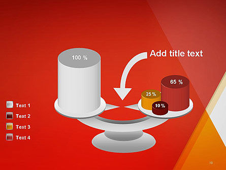 Color Mixing Abstract PowerPoint Template Slide 10