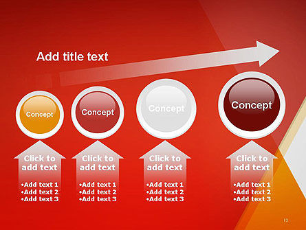 Color Mixing Abstract PowerPoint Template Slide 13