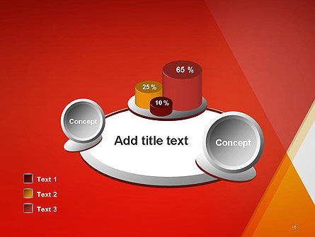 Color Mixing Abstract PowerPoint Template Slide 16
