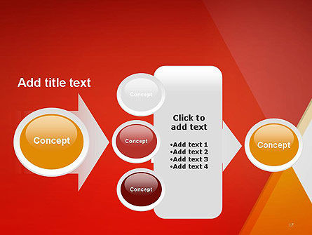 Color Mixing Abstract PowerPoint Template Slide 17