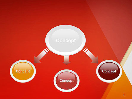 Color Mixing Abstract PowerPoint Template Slide 4