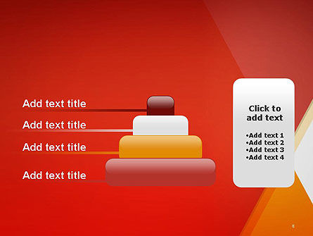 Color Mixing Abstract PowerPoint Template Slide 8