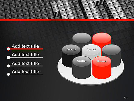 Silver Shiny Ten Year Anniversary PowerPoint Template Slide 12