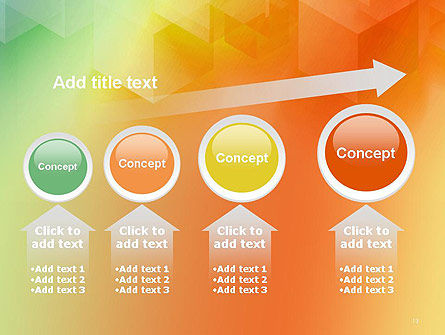 Abstract Geometric Shape from Transparent Cubes PowerPoint Template Slide 13