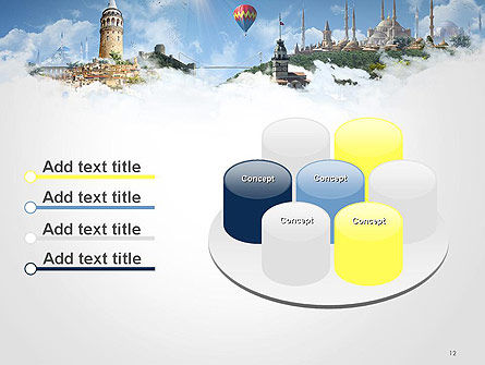 Istanbul Landmarks PowerPoint Template Slide 12