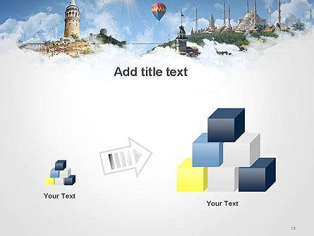Istanbul Landmarks PowerPoint Template Slide 13