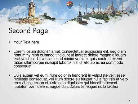 Istanbul Landmarks PowerPoint Template Slide 2