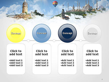 Istanbul Landmarks PowerPoint Template Slide 5