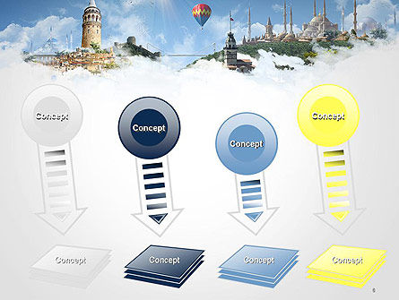 Istanbul Landmarks PowerPoint Template Slide 8