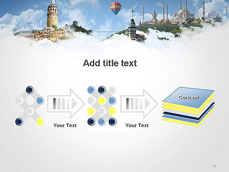 Istanbul Landmarks PowerPoint Template Slide 9