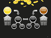 Falling Coins PowerPoint Template#19