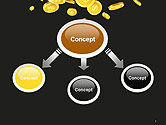 Falling Coins PowerPoint Template#4