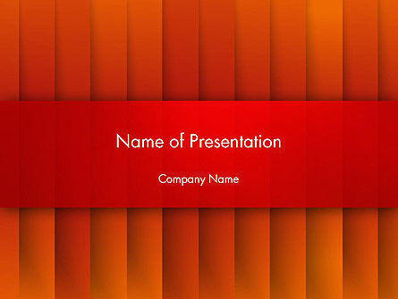 Tile Layers Abstract PowerPoint Template, 14277, Abstract/Textures — PoweredTemplate.com