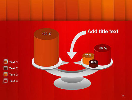 Tile Layers Abstract PowerPoint Template Slide 10