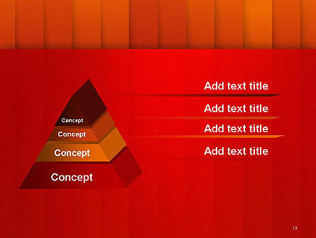 Tile Layers Abstract PowerPoint Template Slide 12