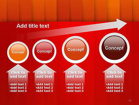 Tile Layers Abstract PowerPoint Template Slide 13