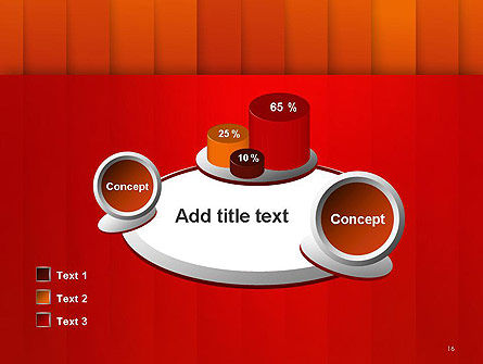 Tile Layers Abstract PowerPoint Template Slide 16