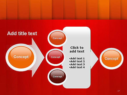 Tile Layers Abstract PowerPoint Template Slide 17