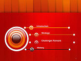 Tile Layers Abstract PowerPoint Template#3