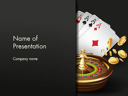 Gambling PowerPoint Template, 14278, Art & Entertainment — PoweredTemplate.com