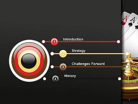Gambling PowerPoint Template, Slide 3, 14278, Art & Entertainment — PoweredTemplate.com