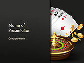 Art & Entertainment: Templat PowerPoint Perjudian #14278