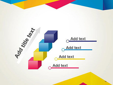 Origami Style Layers Abstract PowerPoint Template Slide 14