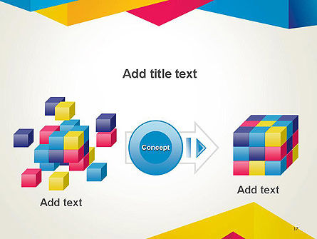 Origami Style Layers Abstract PowerPoint Template Slide 17