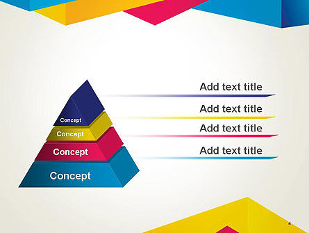 Origami Style Layers Abstract PowerPoint Template Slide 4