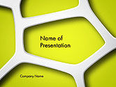 Nature & Environment: Organic Geometry PowerPoint Template #14284