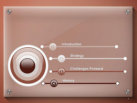 Nameboard Abstract PowerPoint Template, Slide 3, 14285, 3D — PoweredTemplate.com