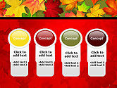 Red and Yellow Autumn Leaves PowerPoint Template#5