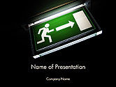 Careers/Industry: Emergency Lighting PowerPoint Template #14289