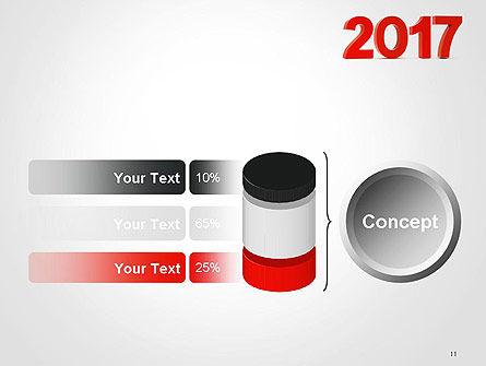 2017 Numbers PowerPoint Template Slide 11