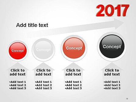 2017 Numbers PowerPoint Template Slide 13