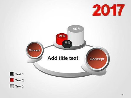 2017 Numbers PowerPoint Template Slide 16
