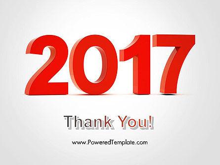 2017 Numbers PowerPoint Template Slide 20