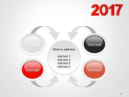 2017 Numbers PowerPoint Template Slide 6
