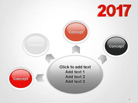 2017 Numbers PowerPoint Template Slide 7