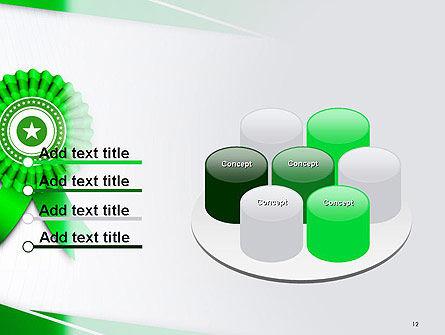 Certificate of Achievement PowerPoint Template Slide 12