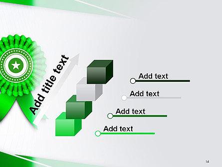 Certificate of Achievement PowerPoint Template Slide 14