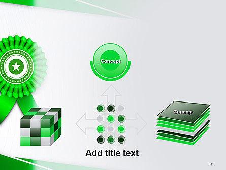 Certificate of Achievement PowerPoint Template Slide 19