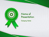 Education & Training: Certificate of Achievement PowerPoint Template #14291