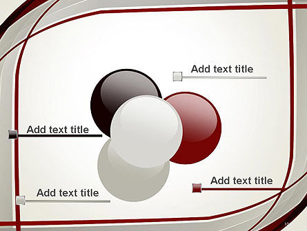 Overlapping Curves PowerPoint Template Slide 10